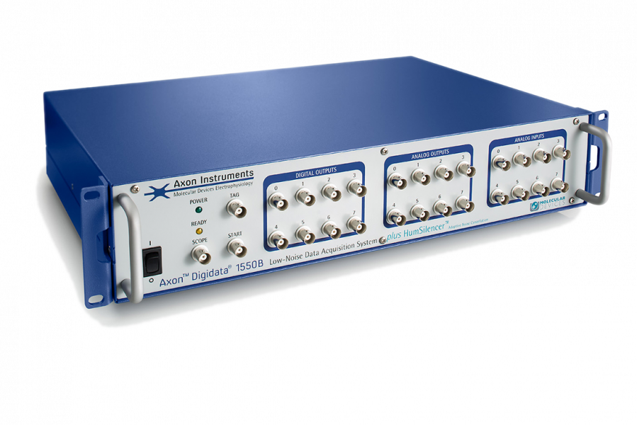 DIGIDATA 1550B LOW-NOISE DATA ACQUISITION SYSTEM PLUS 4 CHANNELS HUMSILENCER